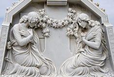 2名祈祷的妇女 库存图片