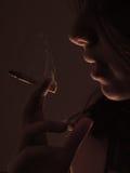 2吸烟者 免版税库存图片