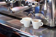 2咖啡设备 免版税库存图片