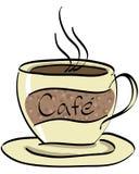 2咖啡馆 免版税图库摄影