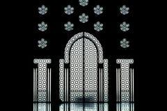 2哈桑内部清真寺 免版税图库摄影