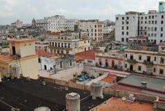 2哈瓦那老顶视图 库存照片