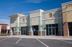 2商务购物中心柔和的淡色彩 库存照片