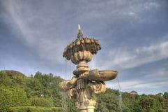 2喷泉 库存图片