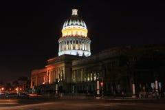2国会大厦哈瓦那 免版税库存照片