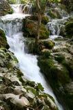 2国家公园plitvice瀑布 免版税库存照片