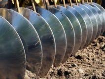 2土壤耕种 免版税库存图片