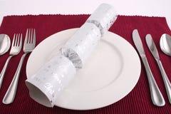 2圣诞节午餐 免版税库存照片