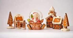 2圣诞节村庄 免版税库存照片