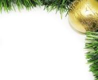 2圣诞节框架 库存照片