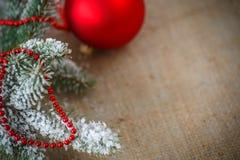 2圣诞节装饰 库存照片