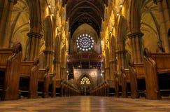 2在玛丽s st里面的大教堂 库存图片