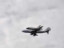 2在航天飞机华盛顿的发现 库存图片