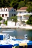 2地中海餐馆 库存照片