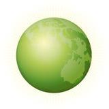 2地球绿色 向量例证