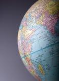 2地球 免版税库存图片