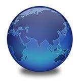 2地球 免版税图库摄影
