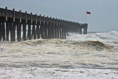 2场飓风ike编号 库存图片
