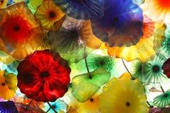2块抽象玻璃 免版税图库摄影