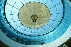 2块玻璃屋顶 图库摄影