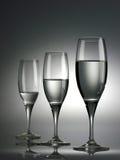 2块玻璃酒 图库摄影