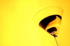 2块玻璃马蒂尼鸡尾酒 免版税库存图片