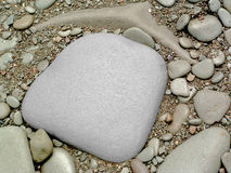 2块石头 免版税库存图片