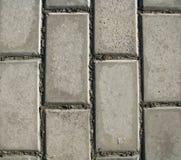 2块砖水泥纹理 免版税库存图片