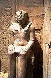 2埃及卢克索ramzes雕象寺庙 库存照片