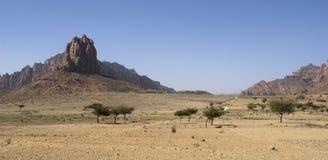 2埃赛俄比亚的横向 免版税库存照片