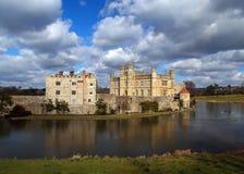 2城堡英国利兹 库存照片