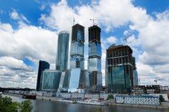 2城市莫斯科 免版税图库摄影