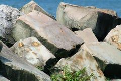 2堆岩石 库存图片