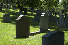 2墓地 免版税图库摄影
