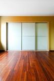 2壁橱玻璃 库存照片