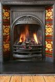 2壁炉 免版税图库摄影