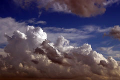 2多云天空 库存图片