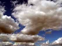 2多暴风雨的天气 库存图片