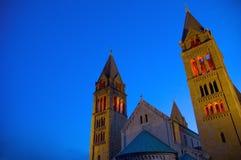 2大教堂匈牙利 免版税库存照片