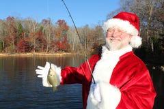 2大clatch s圣诞老人 库存照片