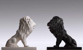 2头狮子 库存图片
