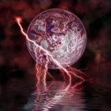 2奇怪的行星 免版税图库摄影
