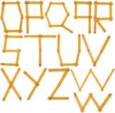 2字母表 库存照片