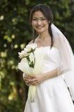 2室外的新娘 图库摄影