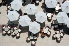 2室外餐馆 图库摄影