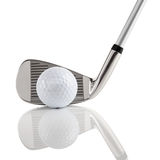 2家俱乐部高尔夫球 免版税库存图片