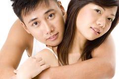 2对亚洲夫妇 免版税库存照片