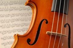 2小提琴 免版税库存图片