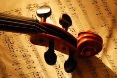 2小提琴 免版税库存照片