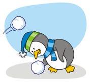 2小的企鹅 库存照片